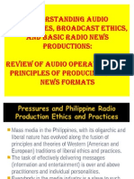 Basic Principles of Creating a Radio News Production