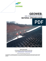 Geoweb Material Specification