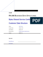 Ra-040 Customer Data Structures Ver 1