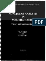 [W.F. Chen, E. Mizuno] Nonlinear Analysis in Soil
