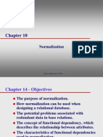 Chapter 10 Normalization