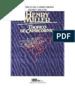 cpricornio henry miller