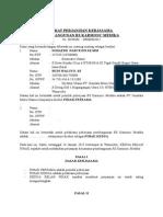 Perjanjian Pembangunan RS - By PT TIGA MUTIARA