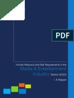 Media-Entertainment NSDC Report (2022)