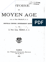 S.J. Brabant - Histoire Du Moyen Age