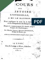 Bossuet - Discours Sur l'Histoire Universelle T2 P3