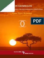 Ngoy Kalumba Léon - Los Gemelos en Las Religiones Tradicionales Africanas