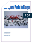 Car Spare Parts in Kenya