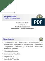 Clase Programación 4
