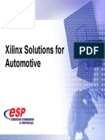 Xilinx - Solutions for Automotive