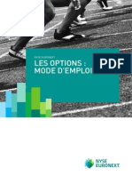 Les Options Mode Emploi