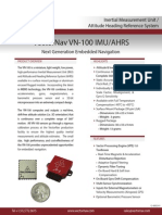 Inertial Measurement Unit, VN 100 Product Brief1