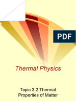 3.2 Thermal Properties of Matter