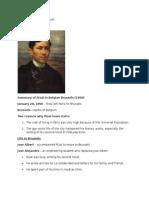 Life of Jose Rizal in Belgium :]]