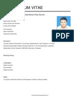 MuhammadAdnanKhan Durrani CV