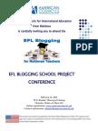 EFL Blogging School Conference Poster