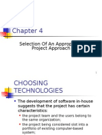 Chapter 4 - Selection of an Appropriate Project Approach-1[1]