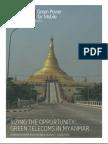 GPM Market Analysis Myanmar June 2014