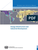 WP 12 Energy Infrastructure and Industrial Development