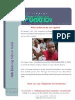 URGENT Donation Haiti APPEAL