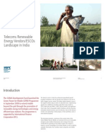telecomsrenewableenergyvendorsandescoslandscapeinindia