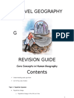 As Level Geography Rev Guide