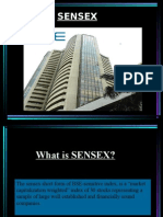 What is Sensex?