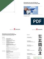 Swisscanto - Präsentation Umfrageresultate