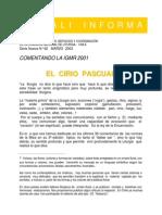 Liturgia - Símbolos - Cirio Pascual