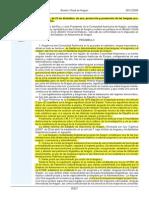 Ley 10 de 09 Lenguas Propias de Aragón