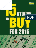 2015 Stocks to Buy
