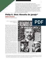 Critchley, Simon - Philip K. Dick. Filosofía de Garaje