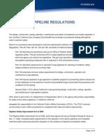 Pipeline Regulations