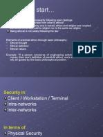Nertwork Management Security Lecture Compendium