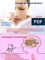 Psychology for Social Workers /Social Care Professionals /Nurses