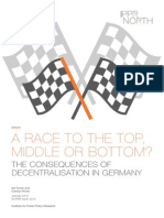 The Consequences of Decentralisation in Germany