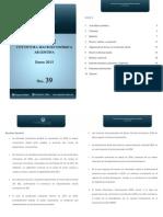 Informe Coyuntura Macroeconómica Argentina N°39