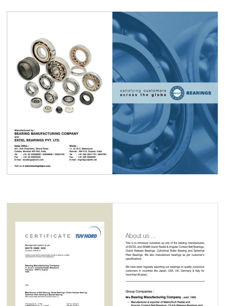 "GEZ014ES-2RS Double Sealed Spherical Plain Bearing 7//8/"""