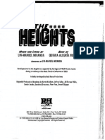 In the Heights Libretto-Act I