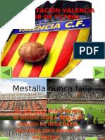 PresentaciÓn Valencia Club de fÚtbol