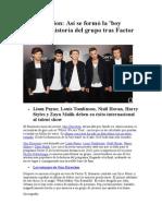 One Direction Historia&Biografia
