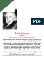 The Einstein Hoax