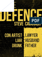 The Defence by Steve Cavanagh - Extract