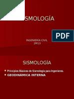 Sismología.