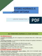 Ud.5 Els Territoris Hispanics a l Edat Mitjana