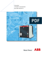 Manual Del Interruptor ABB CALOR EMAG en Vacio VM1