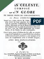 Atlas celeste 1782