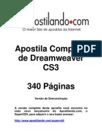 Apostila Dreamweaver CS3 demonstração