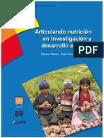 Articulando Nutrición en Investigacion y Desarrollo Agrícola
