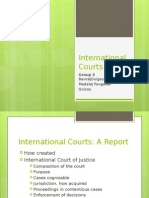 International Courts - PIL Report